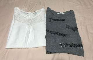 2 for $6: H&M tops