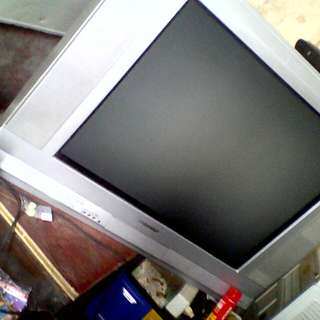 "Tv tabung 29"" datar sharp"