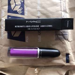 Mac retro matte liquid lip colour