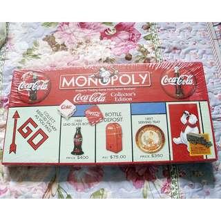 90年代可口可樂美版大富翁一盒