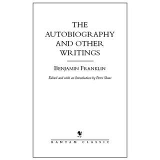 The Autobiography and Other Writings- ebook