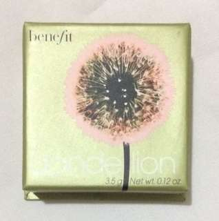 Benefit Cosmetics Dandelion Brightening Finishing Powder Travel Size Mini