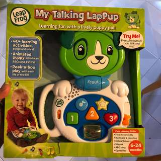 My talking Lap-pup