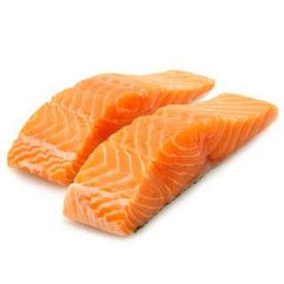 Salmon Fillet (frozen) for sale.