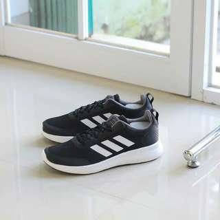 Adidas Cloudfoam Element Race Black white (BNWB)