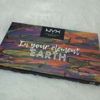 Nyx in your element eyeshadow