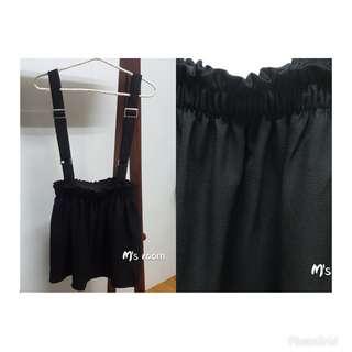 🚚 可調式吊帶短裙