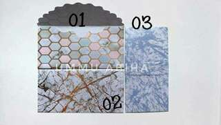 Luxury Money Envelopes Marble Series! 2 For $12 (10 pieces Each) Instock clearance sales!