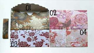 Luxury Money Envelopes Flower Series! 2 For $12 (10 Pieces Each) Instocks clearance sales!
