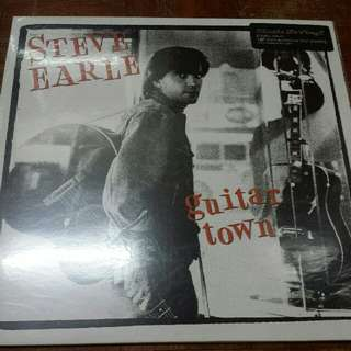 Steve Earle ‎– Guitar Town - Vinyl Record LP - Mint - Music On Vinyl