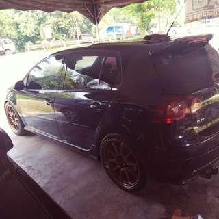 VW GOLF GTI MK5 SAMBUNG BAYAR