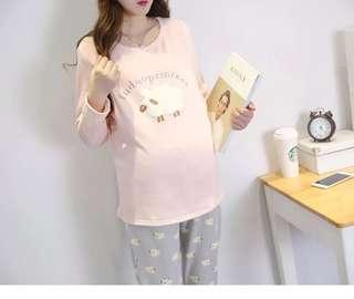 孕婦坐月鍡奶哺乳衫