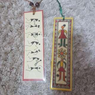 Handmade book marks