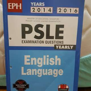 PSLE english exam questions yearly