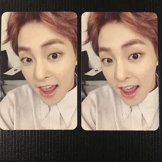 EXO Xiumin Lucky One Photocard