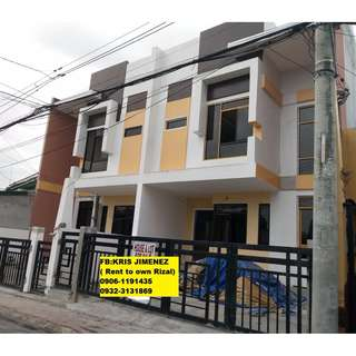 Purple residences Spacious townhouse near infant jesus marikina Ready for occupancy
