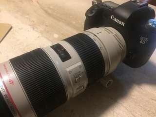 Canon 70-200 2.8 IS Mark II + 6D
