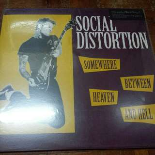 Social Distortion–Somewhere Between Heaven And Hell - Vinyl Record LP - Mint - Music On Vinyl