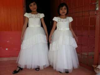 Flower girl/ Kids wedding gown
