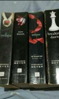 Rush Selling Twilight Saga Book Bundle