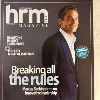 Dirt cheap HRM Magazine March edition