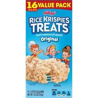 Rice Krispies Treats Original Bars - Kellogg's (box of 16- preorder)