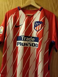 New with Tag: Atletico Madrid 17/18 Home Nike Fans Jersey w/ Torres #9