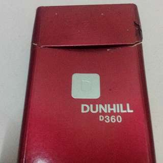Vintage Dunhill 20 D360 Cigarette Pack