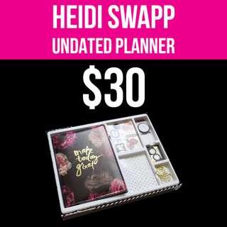 Heidi Swapp Planner (UNDATED)