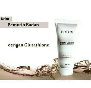 Ertos body cream