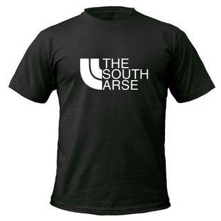 The South Arse Unisex Design Shirt T-Shirt Tee