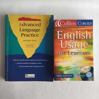 Preloved books for learning English