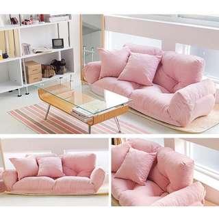 雙人扶手沙發床