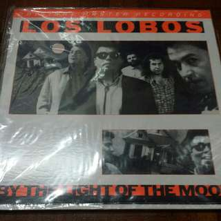 Los Lobos ‎– By The Light Of The Moon - Vinyl Record LP - Mint - MoFi Audiophile Pressing
