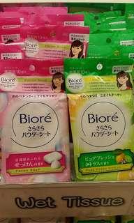 Biore SaraSara Body Powder Sheets (PO Jastip)