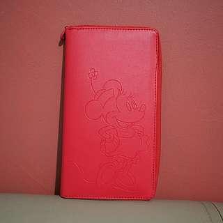 Wallet Folder Clutch Disney Minie Mouse