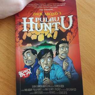 "Preloved Buku ""Pulau Huntu"""