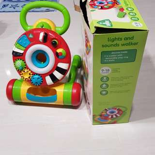 ELC (Early Learning Center) lights and sounds walker