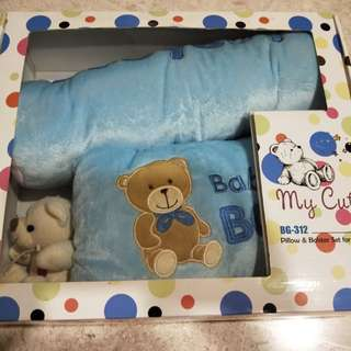 Baby pillow and bolster set for infants