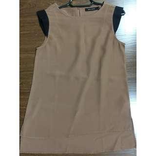 G2000 Woman sleeveless blouse brown 32