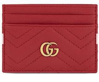 (代購)Gucci GG Marmont Leather Cardholder
