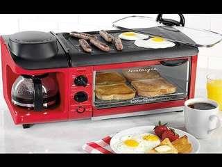 Nostalgia 3-in-1 breakfast maker