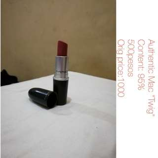 "Authentic MAC lipstick ""Twig"""