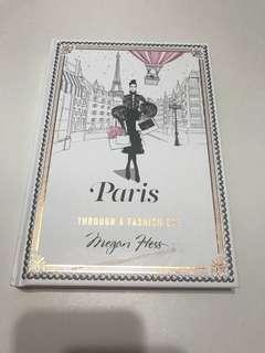 (HARDCOVER) Paris through a fashion eye by Megan Hess