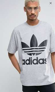 🚚 Adidas 愛迪達 大logo t-shirt