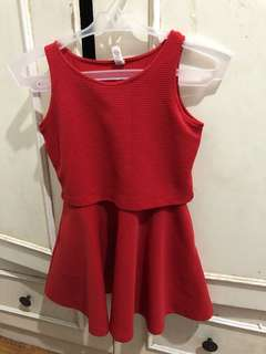 Grizzly Red Dress
