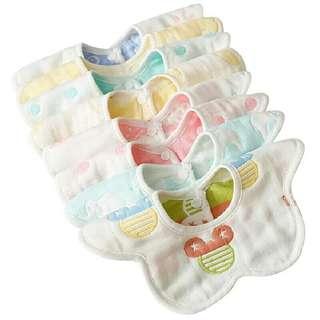 Baby saliva napkin 10 pcs