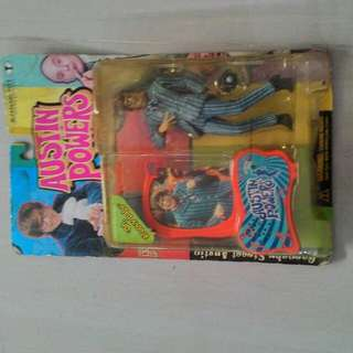 Austin powers figure by Mac farlane toys