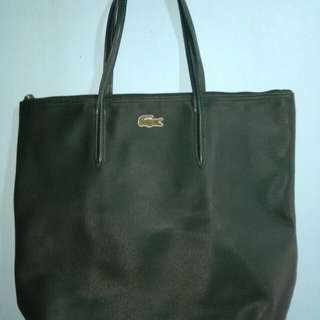 STEAL PRICE AUTHENTIC LACOSTE TOTE BAG