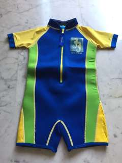 Thermal wet suit